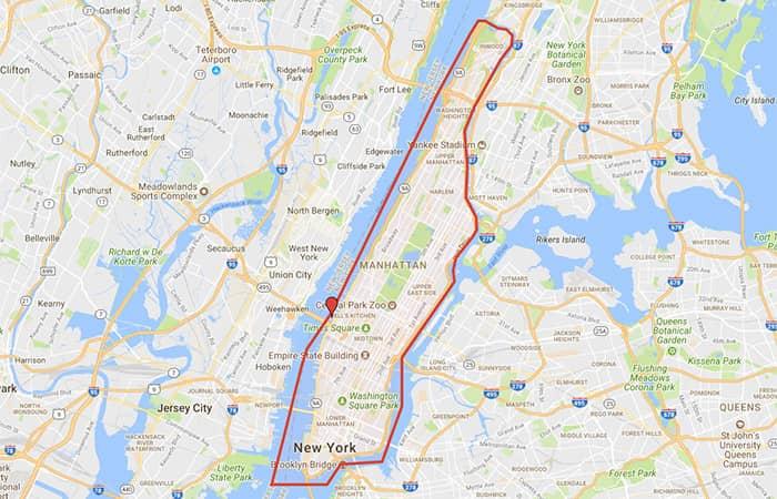 Circle Line Best of NYC Cruise - Ruten