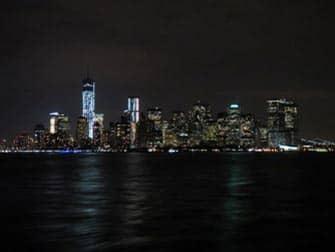 Circle Line New York Harbor Lights Cruise - Udsigt over Manhattan fra båden