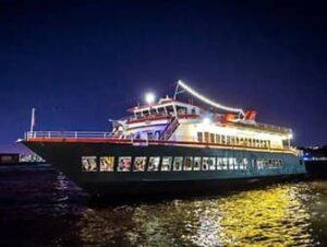 Cruise med middag på Hudson River i New York