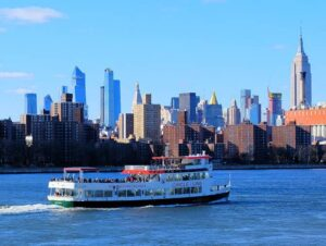 Cruise om dagen i New York