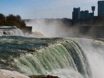 Dagstur fra New York til Niagara Falls med fly- Den amerikanske side