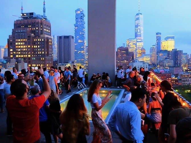De bedste rooftop-barer i New York - Jimmy