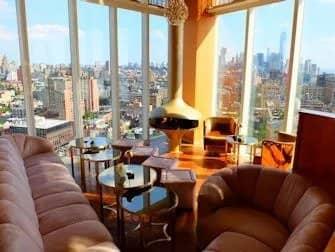 De bedste rooftop-barer i New York - Top of the Standard udsigt