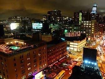 De bedste rooftop-barer i New York - Udsigt fra Gansevoort Hotel