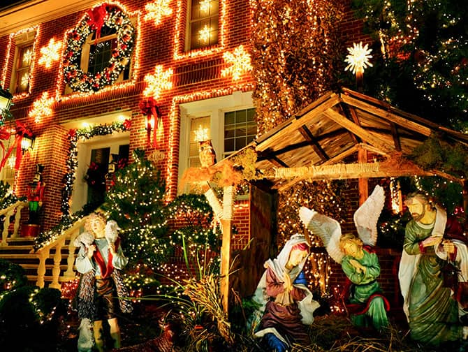 Dyker Heights Christmas Lights - Krybbespil