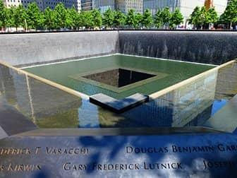 Forskellen på New York Explorer Pass og New York Pass - 9/11 Memorial