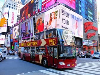 Forskellen på New York Explorer Pass og New York Pass - Hop-on-hop-off-bus