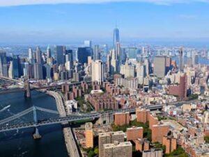 Helikoptertur uden døre i New York