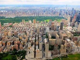 Helikopterture og ruter i New York - Central Park