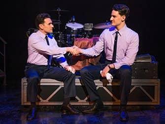Jersey Boys Broadway billetter - Håndtryk