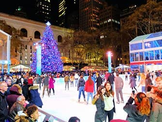 Juletid i New York - Bryant Park