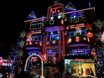 Juletid i New York - Dyker Heights
