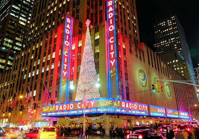 Juletid i New York - Radio City Music Hall