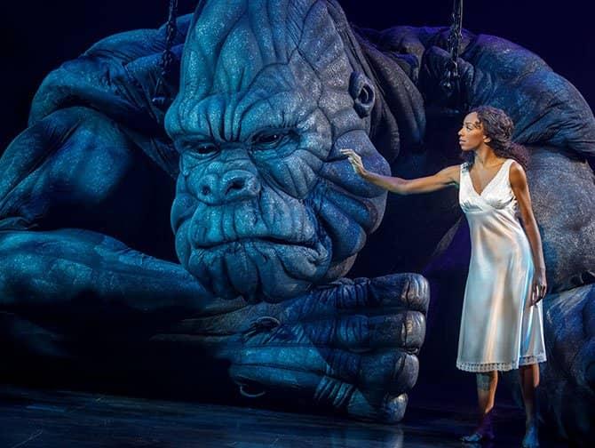 King Kong the Musical Broadway billetter - King Kong og Ann