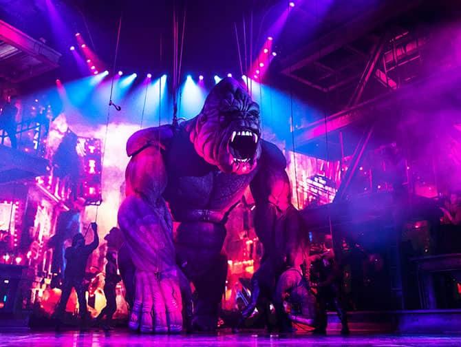 King Kong the Musical Broadway billetter - King Kong
