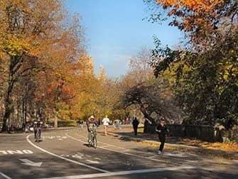 Leje cykel i New York - Efterår i Central Park
