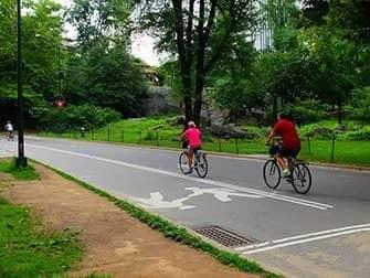 Leje cykel i New York - På cykel i Central Park