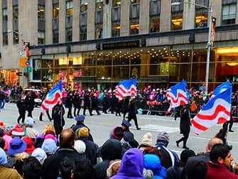 Macy's Thanksgiving Parade - Flag
