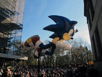 Macy's Thanksgiving Parade - Sonic the Hedgehog