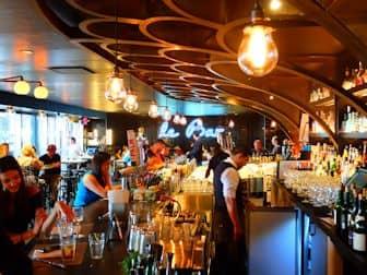 Markeder i New York - Le Bar i Le District