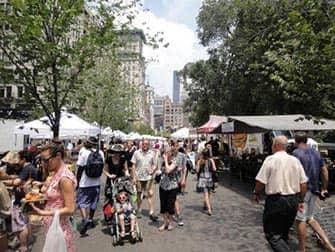 Markeder i New York - Union Square Market