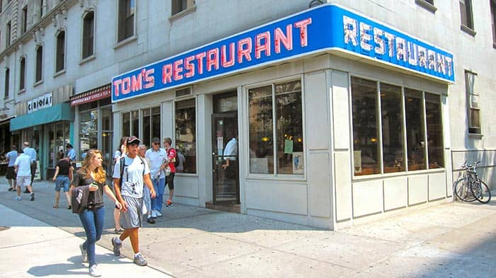 Morgenmad i New York - Toms Restaurant