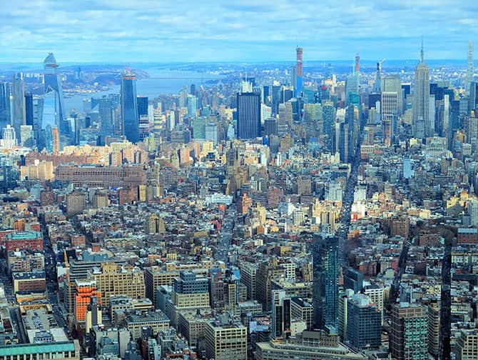 New York Sightseeing Day Pass - Udsigt fra One World Observatory