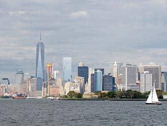 Søndagssejltur med champagnebrunch i New York - Skyline