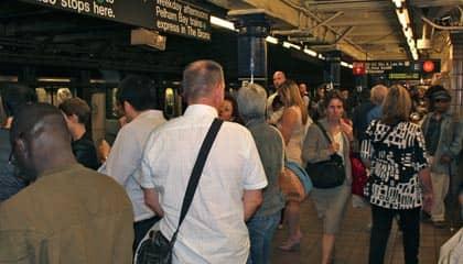 Subway i New York - Myldretid