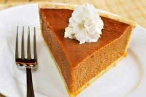 Thanksgiving cruise med middag i New York - Græskarpie