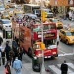 Top 10 seværdigheder i New York - Hop-on-hop-off-bus