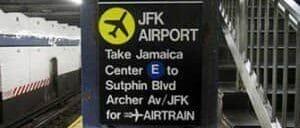 Transfer fra Manhattan til JFK Lufthavn