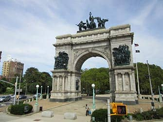 Brooklyn i New York - Grand Army Plaza