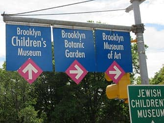 Brooklyn i New York - Skilte