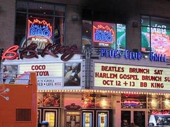 Jazz og blues i New York - BB King Blues Club