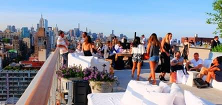 Rundtur til rooftop-barer