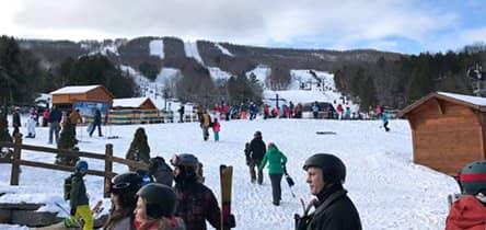 Skisportssteder nær New York