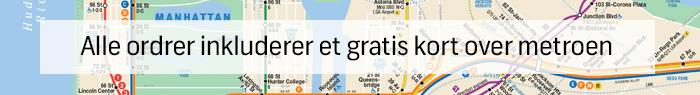Køb New York MetroCard - Gratis kort