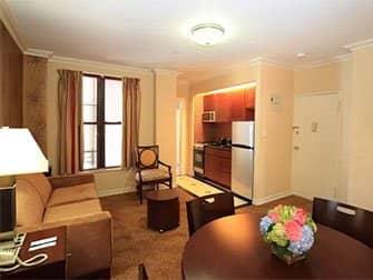 Lejligheder i New York - Radio City Apartments interiør