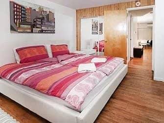 Lejligheder i New York - Superior Times Square Apartment soveværelse