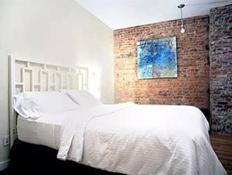 Lejligheder i New York - TEN15NYC soveværelse