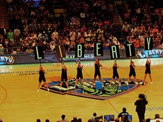 New York Liberty basketball billetter - Kamp
