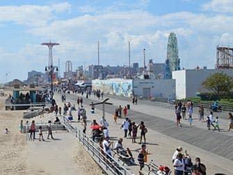 New York Pizza Tour til Brooklyn og Coney Island - Coney Island