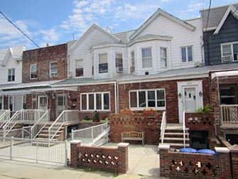 New York Pizza Tour til Brooklyn og Coney Island - Huse i Brooklyn