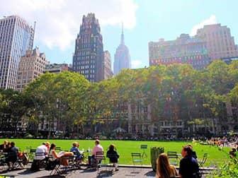 Parker i New York - Bryant Park