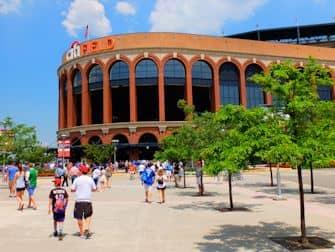 Queens i New York - Citi Field Stadium