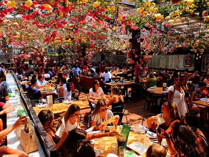 Restauranter i New York - Birreria rooftop