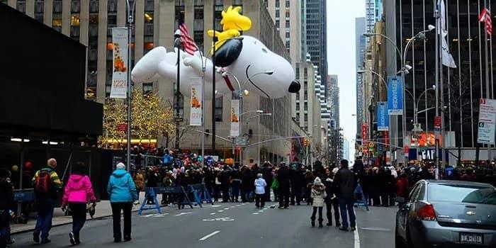 Thanksgiving i New York - Macy's Thanksgiving Parade
