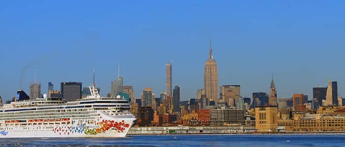Transport mellem Manhattan og havne i New York - Krydstogt