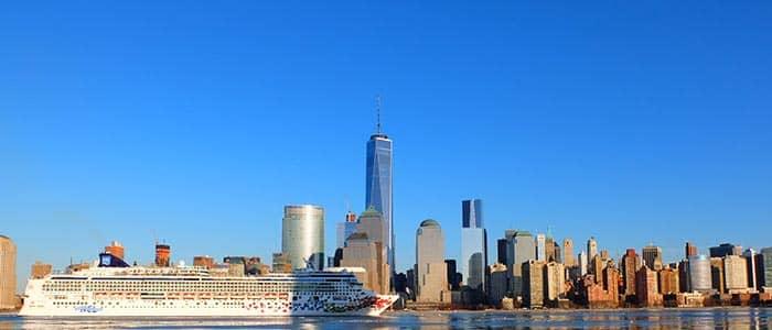 Transport mellem lufthavne og havne i New York - Krydstogt